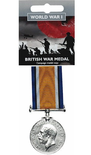 WWI Full-size British War Medal Replica