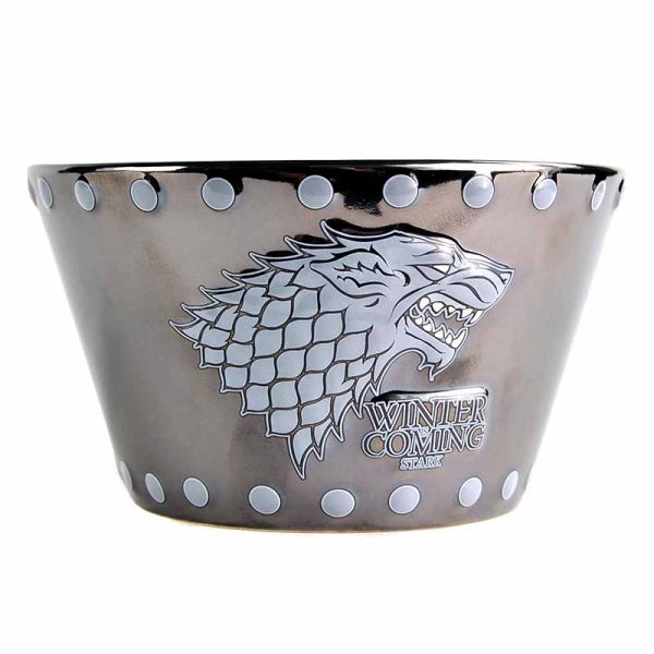 Game of Thrones Stark Embossed Bowl