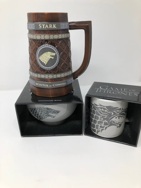 Game of Thrones Stark Breakfast Bowl