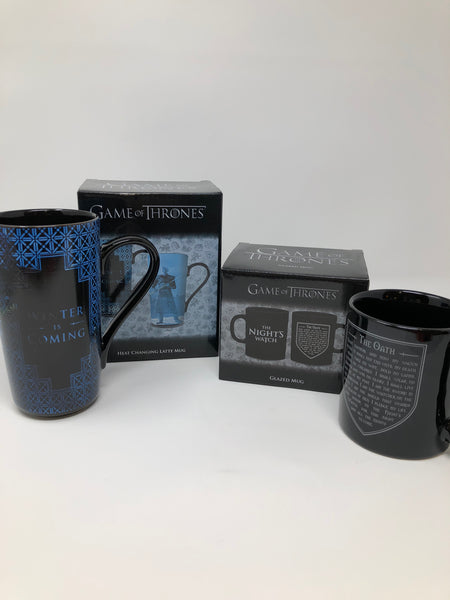 Game of Thrones The Nights Watch Heat Changing Latte Mug