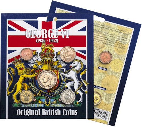 Original George VI (1936-1952) Coin Collection