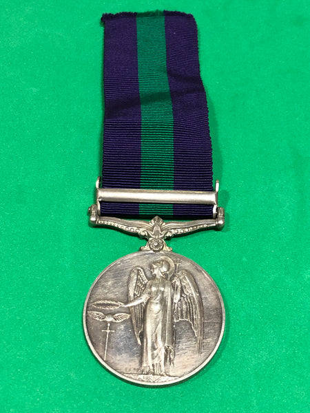 General Service Medal 1918-62 Clasp Palestine 1945-48