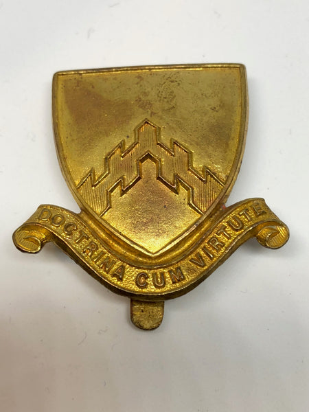 Hertford Grammar School O.T.C Cap Badge