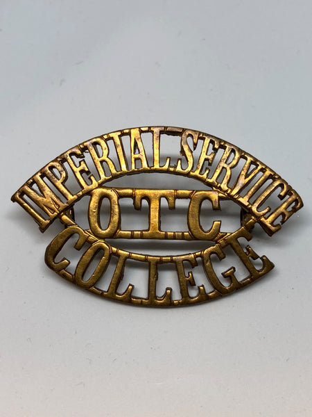 Imperial Service College Windsor O.T.C Shoulder Title