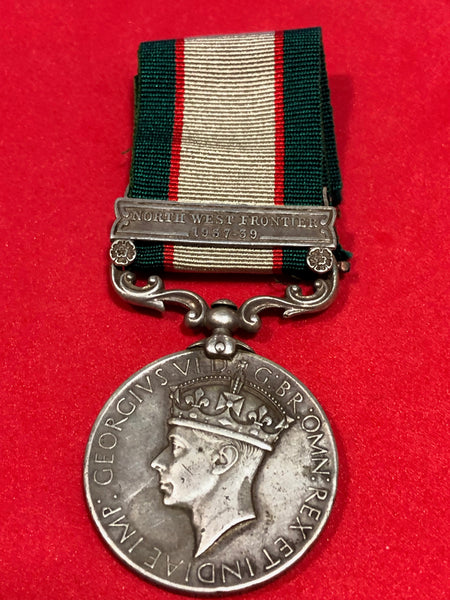 India General Service Medal 1936 Clasp NWF 1937-39