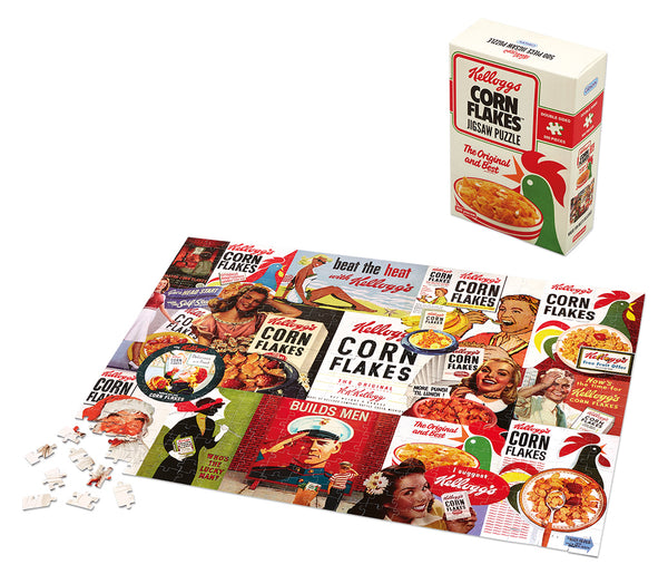 Kellogg's Cornflakes Double-Sided Puzzle 500pc