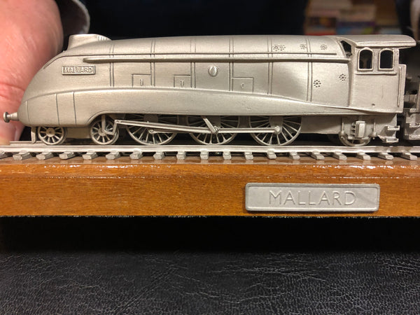 Model Mallard Steam Train
