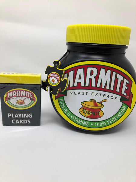 Marmite Puzzle and Card Game Bundle