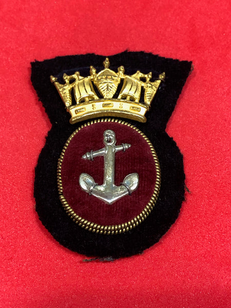 Merchant Navy Ratings Cap Badge
