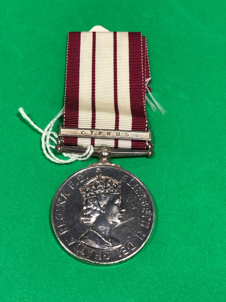 Naval General Service Medal 1915 Clasp Cyprus