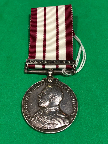 Naval General Service Medal Clasp Persian Gulf 1909-1914