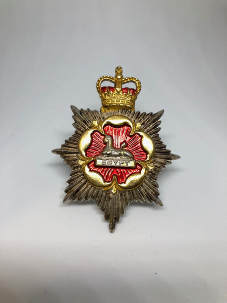 Officer's Royal Regt. Gloucestershire and Hampshire Cap Badge