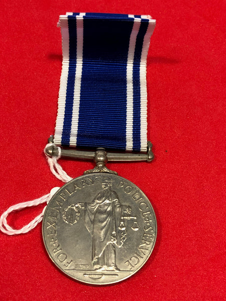 Police Long Service and Good Conduct Medal George VI