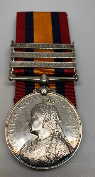 Genuine Queen's South Africa Medal