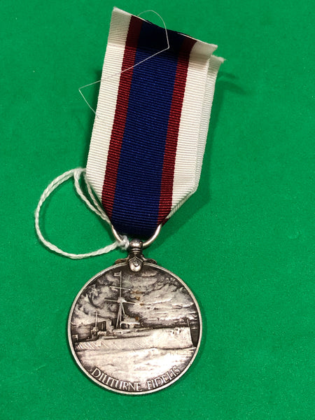 Royal Fleet Reserve Long Service and Good Conduct Medal George V