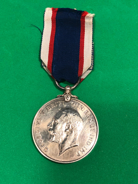 Royal Fleet Reserve Long Service and Good Conduct Medal Second Issue