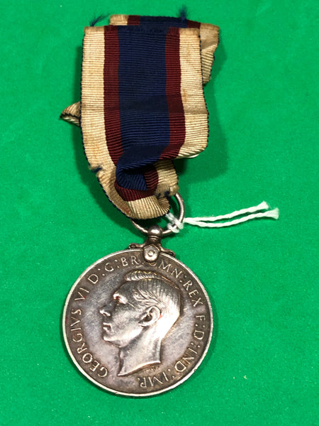 Royal Marine Royal Fleet Reserve Long Service and Good Conduct Medal George VI