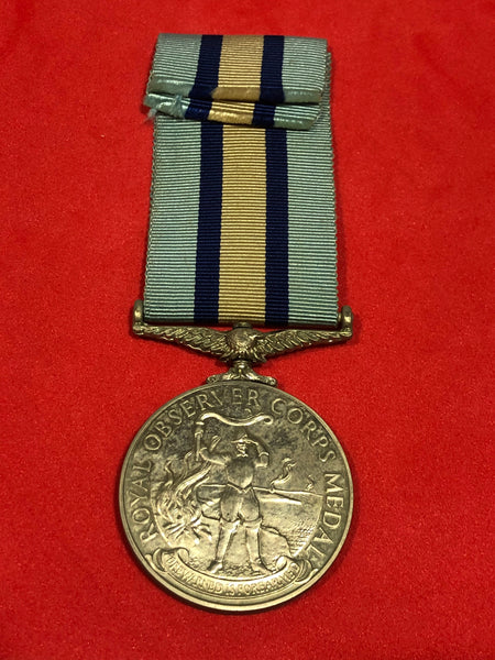 Royal Observer Corps Medal 1950