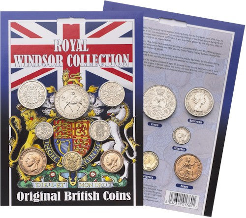 Original Royal Windsor Coin Collection