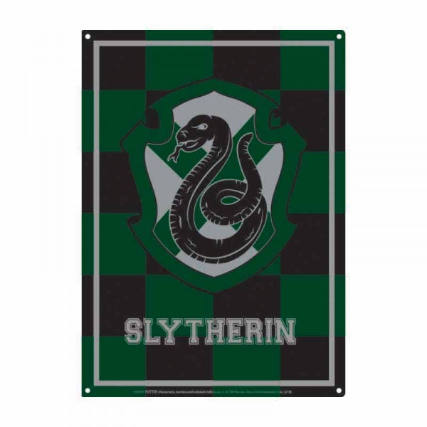 Harry Potter Slytherin Small Tin Sign