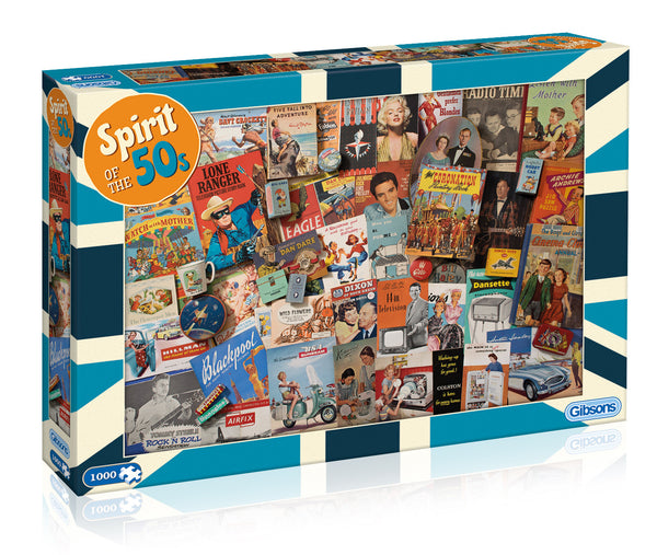 Spirit of the 50s Jigsaw Puzzle (1000 pc)