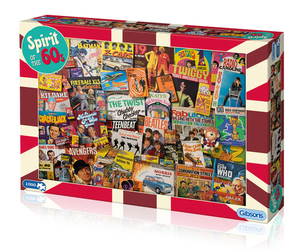 Spirit of the 60s Jigsaw Puzzle (1000 pc)