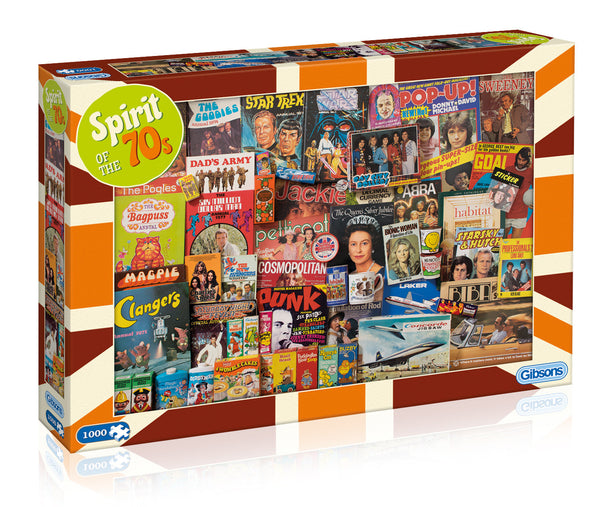 Spirit of the 70s Jigsaw Puzzle (1000 pc)