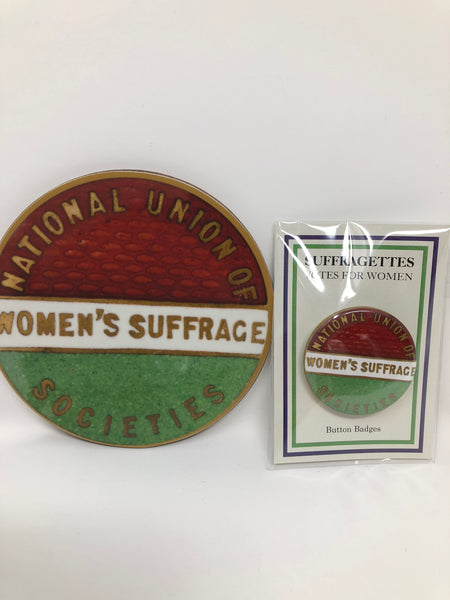 Suffragette Button Badge and Coaster Bundle