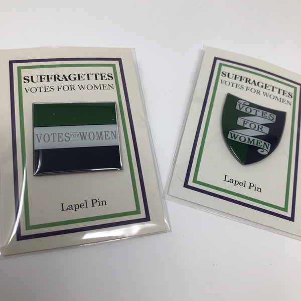 Suffragette Lapel Pin Bundle