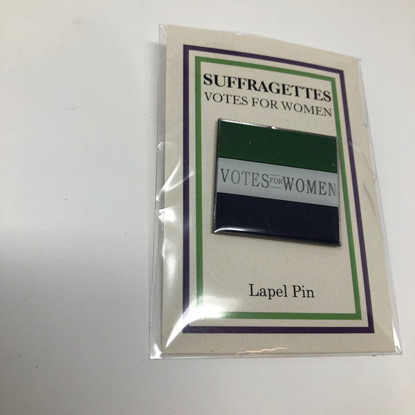 Suffragette Lapel Pin