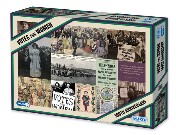 Suffragette Votes For Women 100 Anniversary Puzzle 1000pc