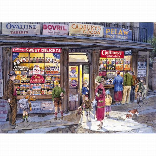 The Corner Shop Puzzle 500PC