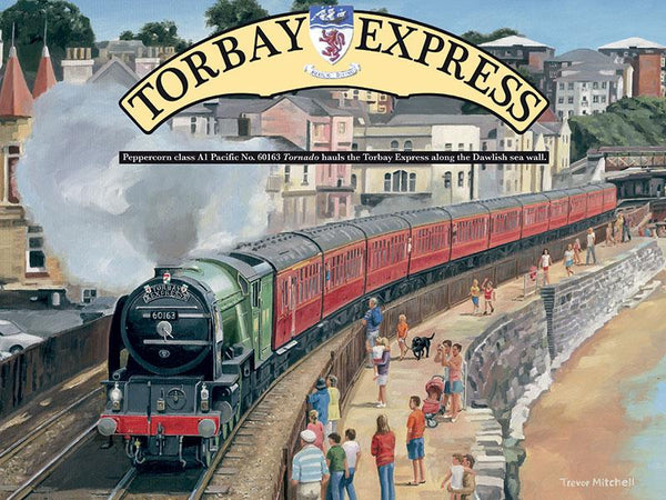 Torbay Express Large Metal Sign