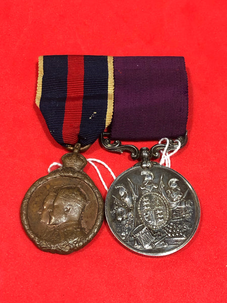Victorian Long Service and Good Conduct Medal Pair
