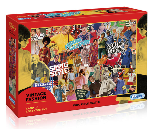 Vintage Fashion Puzzle 1000pc