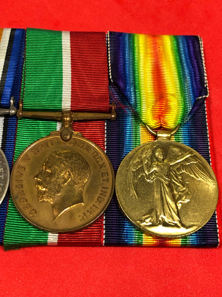 WWI Royal Naval Reserve Trio