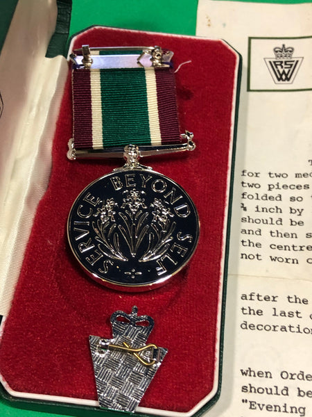 Women's Royal Voluntary Long Service Medal 1961