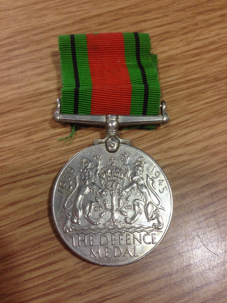 Genuine WWII Defence Medal