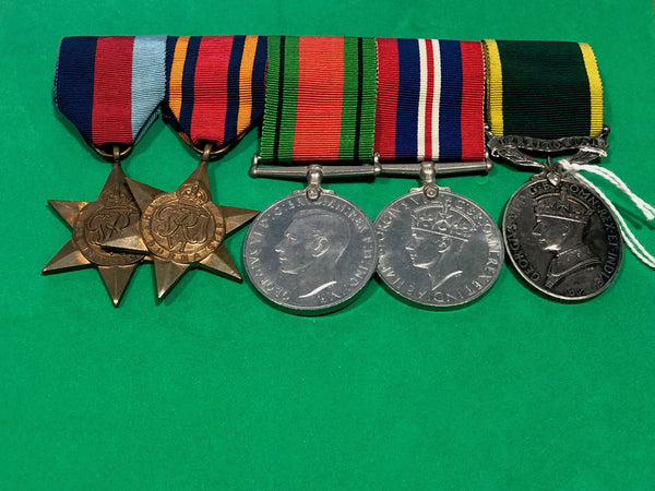 WWII Far East and Voluntary Long Service Medal