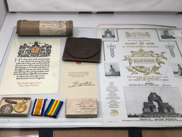 WWI Casualty Pair with Documents