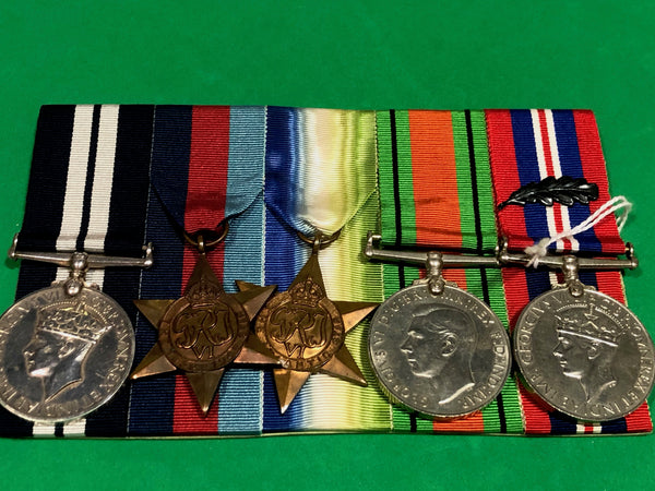 WWII Distinguished Service Medal Group to Second Hand J.E. Freer RN