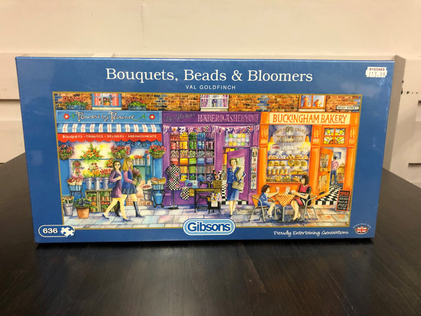 Bouquets, Beads & Bloomers 636pc Puzzle