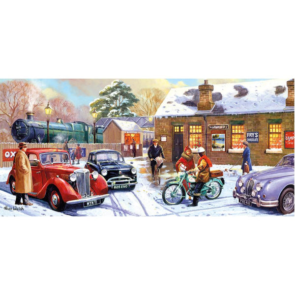 Christmas Eve at the Station 636pc puzzle