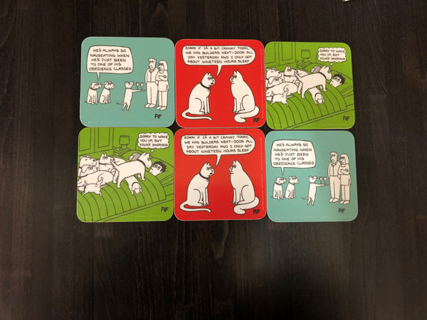Quirky Quote Coaster Set
