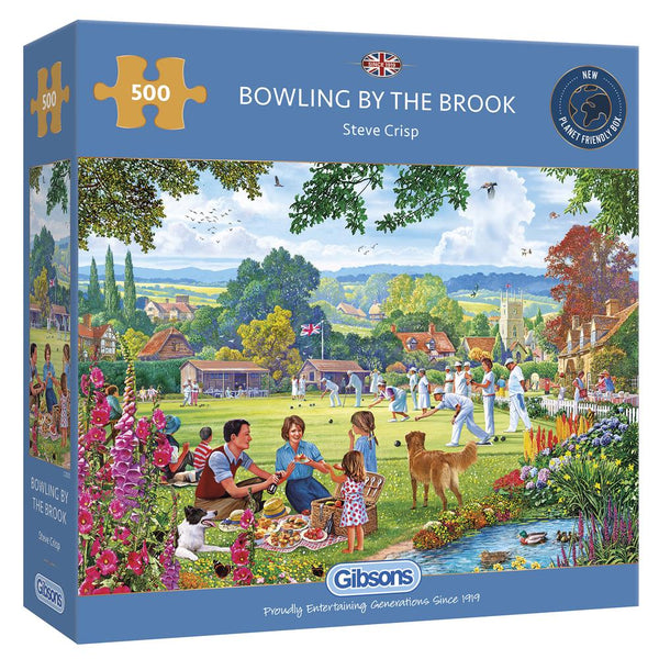 Bowling By The Brook 500pc Puzzle