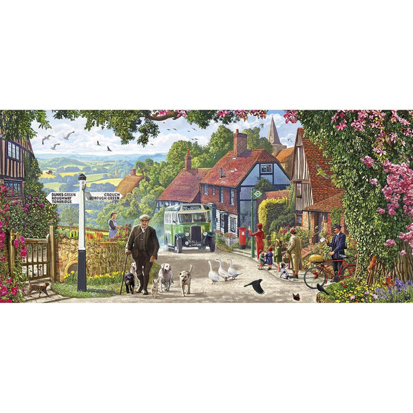 A Morning Stroll 636pc Puzzle