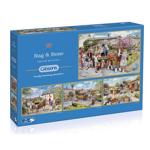 Rag & Bone 4x500pc Puzzle