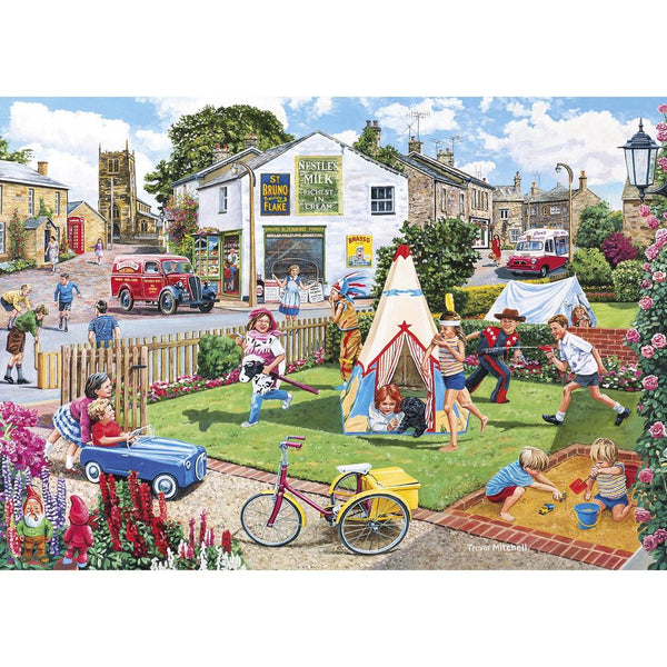 Wigwams & Wooly Hats 2x500pc Puzzle