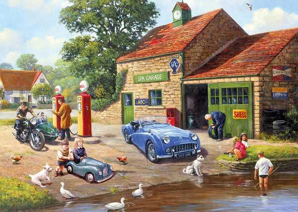 Ponds & Pumps 2x500pc Jigsaw Puzzles