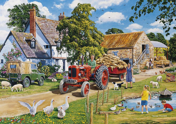 The Farmer's Round 4x500pc Puzzles